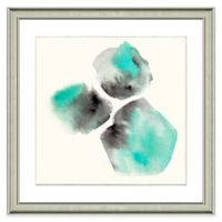 Abstract Watercolor Wall Art in Green