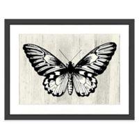 Butterfly Wall Art in Black/White