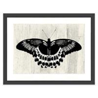 Butterfly II Wall Art in Black/White