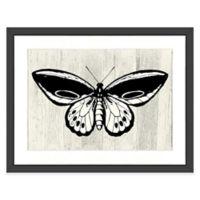 Butterfly III Wall Art in Black/White