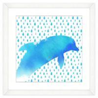 Dolphin Watercolor Wall Art