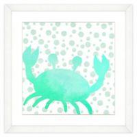 Crab Watercolor Wall Art