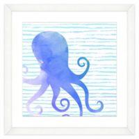 Octopus Watercolor Wall Art