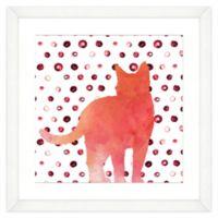 Cat Watercolor Wall Art