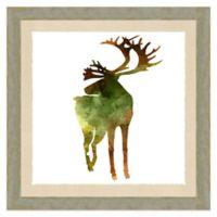 Reindeer Watercolor Wall Art