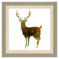Deer Watercolor Wall Art