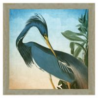 Blue Egrit Wall Art