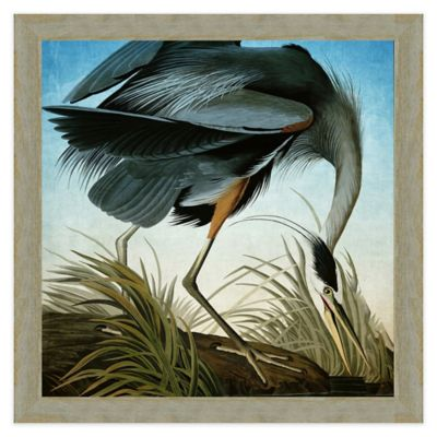 great blue heron wall art buy heron wall art from bed bath  u0026 beyond  rh   bedbathandbeyond