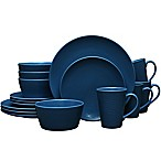 Noritake® Navy on Navy Swirl 16-Piece Coupe Dinnerware Set