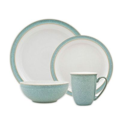 Denby Elements 4-Piece Place Setting in Green  sc 1 st  Bed Bath \u0026 Beyond & Buy Denby Dinnerware from Bed Bath \u0026 Beyond