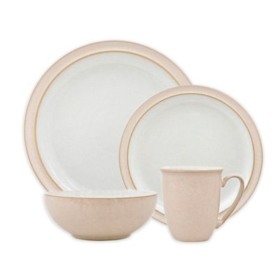 Denby Elements 4-Piece Place Setting in Natural  sc 1 st  Bed Bath \u0026 Beyond & Buy Denby Dinnerware from Bed Bath \u0026 Beyond