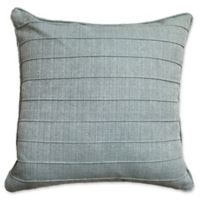 Dynasty Pintuck 20-Inch Square Throw Pillow in Turquoise