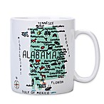"My Place ""Alabama"" Jumbo Mug"