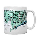 "My Place ""Detroit"" Jumbo Mug"