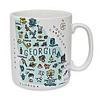 "My Place ""Georgia"" Jumbo Mug"