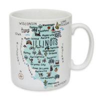 "My Place ""Illinois"" Jumbo Mug"