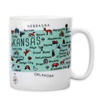 "My Place ""Kansas"" Jumbo Mug"