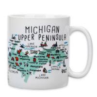 "My Place ""Michigan Upper Peninsula"" Jumbo Mug"