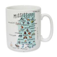 """My Place """"Mississippi"""" Jumbo Mug"""