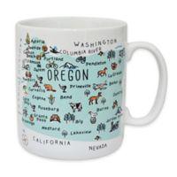 "My Place ""Oregon"" Jumbo Mug"