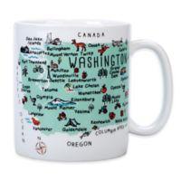 """My Place """"Washington State"""" Jumbo Mug"""