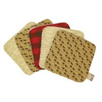 Trend Lab® 5-Pack Northwoods Washcloths