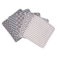 Trend Lab® 5-Pack Ombre Washcloths in Grey