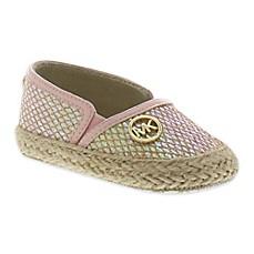 michael kors infant espadrille shoes in light pink