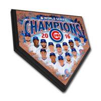 MLB Chicago Cubs World Series Home Plate Plaque