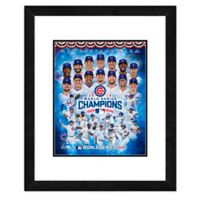 "MLB Chicago Cubs ""2016 World Series Champions"" Framed Team Composite Photo"