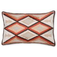 Aura Arrow 14-Inch x 20-Inch Oblong Throw Pillow in Orange
