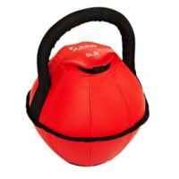 Sunny Health & Fitness Soft 5-Pound Kettlebell in Red