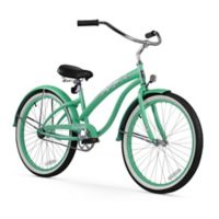 "Firmstrong Bella Classic 26"" Single Speed Beach Cruiser Bicycle in Mint Green"