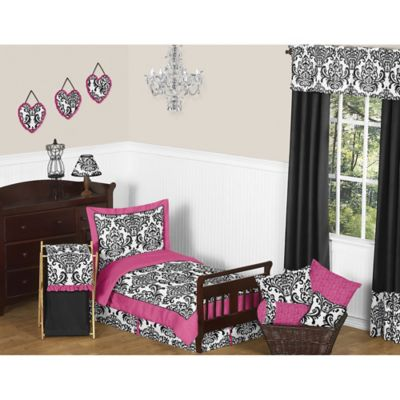 Buy Black White Damask Bedding From Bed Bath Beyond - Black and white damask bedding