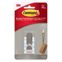 3M Command™ Medium Modern Faux Metal Hook