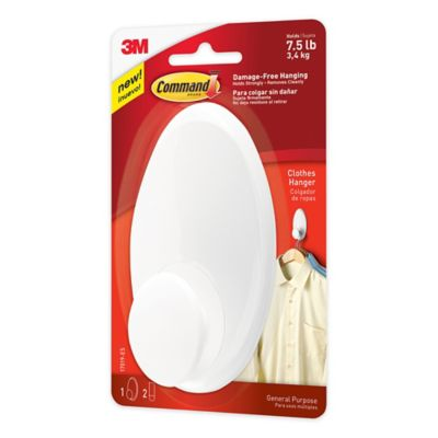 3M Command™ Clothes Hander in White