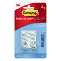 3M Command™ Medium Crystal Hook (Set of 2)