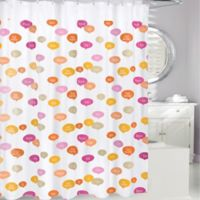 Ciao PEVA Shower Curtain in Pink/Orange