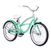"Firmstrong Urban Girl 20"" Single Speed Beach Cruiser Bicycle in Mint Green"