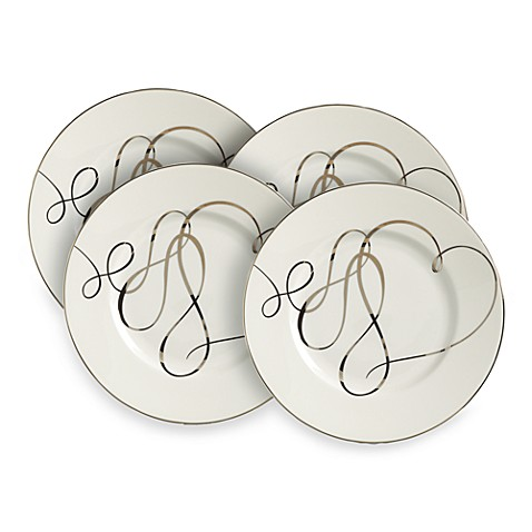 Mikasa® Love Story 8-Inch Accent Plates (Set of 4)