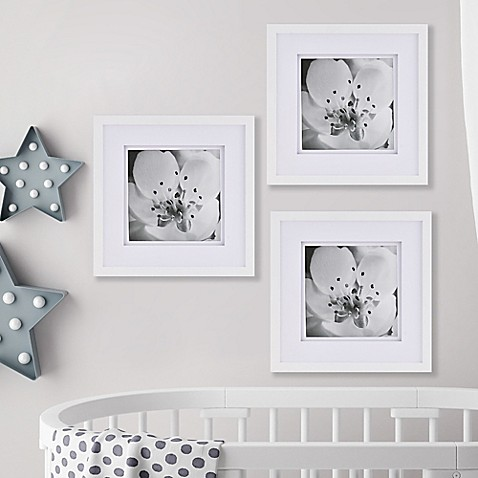 Real Simple® Gallery Frame Set in White (Set of 3) - Bed Bath & Beyond