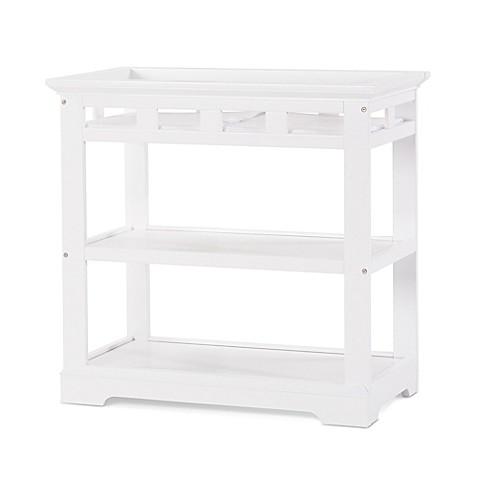 child craft kayden changing table in matte white buybuy. Black Bedroom Furniture Sets. Home Design Ideas