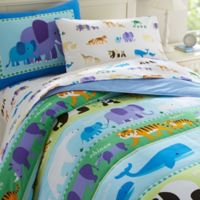 Olive Kids Endangered Animals 2-Piece Twin Bedding Set