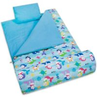 Olive Kids Wildkin Mermaids 3-Piece Sleeping Bag Set in Blue