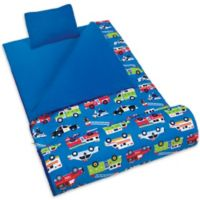 Olive Kids Heroes 3-Piece Sleeping Bag Set in Blue