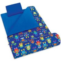 Olive Kids Robots 3-Piece Sleeping Bag Set in Blue