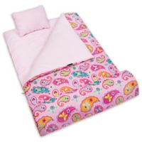 Olive Kids Wildkin Paisley 3-Piece Sleeping Bag Set in Pink