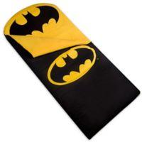 Wildkin 3-Piece Batman Emblem Sleeping Bag Set in Black/Yellow