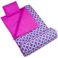 Wildkin 3-Piece Twizzler Sleeping Bag Set in Pink