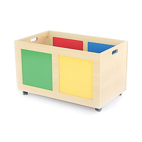 Tot Tutors Rolling Toy Chest BABY